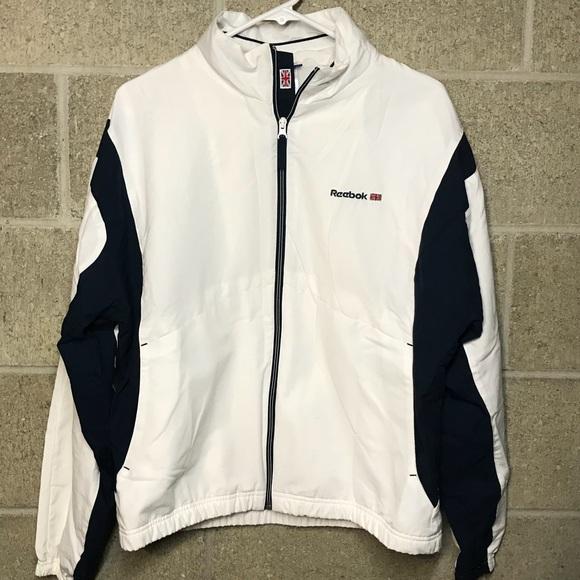 ea42177438 ⬇️$30 Reebok Classic Men's warmup Jacket Large